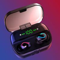 Wireless Bluetooth 5.0 Earbuds Earphones TWS Waterproof Headset Stereo Headphone