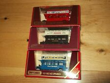 MATCHBOX MODELS OF YESTERYEAR Y23-1 1922 AEC BUSES x3