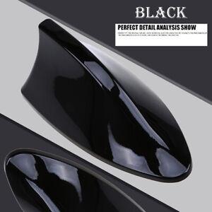 1* Gloss BLACK  Shark Fin Car Roof Antenna Radio FM/AM Signal Aerial Accessories