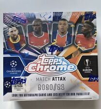 Topps Chrome 2020/21 Champions League - Factory Sealed Hobby Box Pack