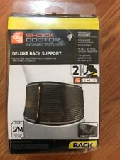 """Shock Doctor Deluxe Back Support 836 - Size S/M Waist Size 32""""-34"""""""
