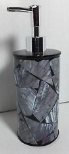 Brand New Lotion / Soap dispenser Anna's linens Black and Gray lotion dispenser