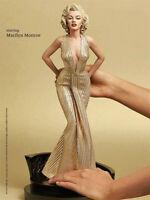 Sexy Marilyn Monroe Herren bevorzugen Blondinen 1/4 Scale PVC Statue Abbildungs