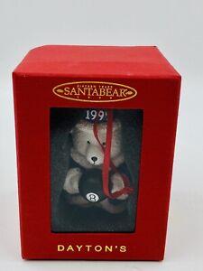 "Vintage Dayton Hudson 1999 Fifteen Years ""SANTA BEAR"" Ornament Wizard 8 Ball NIB"