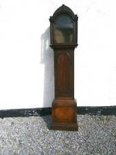 More details for early 12x17 inch mahogany longcase clock  case for a 12 inch dial  c1830