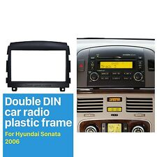 Car Stereo Fascia Plate for 2006 Hyundai Sonata Install Dash Bezel Trim Kit 2DIN