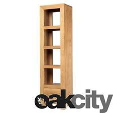 Cuba Chunky Oak Slim Jim Bookcase