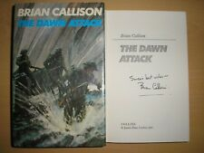 BRIAN CALLISON - THE DAWN ATTACK  1st/1st  HB/DJ  1972  SIGNED & LINED