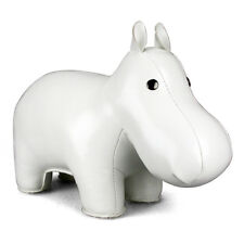 NEW Zuny Classic Hippo Paperweight - White > Classic Paperweights