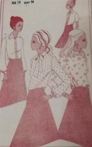 VINTAGE DRESSMAKING BLOUSE PATTERN - WOMANS WEEKLY B542