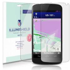 iLLumiShield Matte Matte Screen+Back Protector 3x for LG Google Nexus 4 (E960)