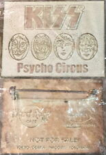 Hard Rock Cafe 1998 KISS PSYCHO CIRCUS Rare Special Event PROMOTIONAL PIN #10060