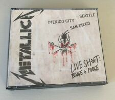 Metallica - Live sh*t binge & purge - 3CD's & 2 DVD's - Excellent condition !