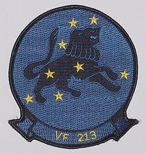 """Us navy écusson patch vf 213 Fighter escadrille """"Black Lion 's""""... a2540"""