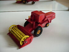 Matchbox King Size Claas Combine harvester in Red