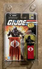 New listing Gi Joe 25th Anniversary Cobra Commander Leader W/ Clear Case Comic Con Exclusive