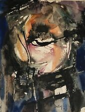 Philippe Saby Artias Picasso friend Painting Abstract Oil Oleo France French