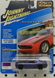 2010 10 CHALLENGER R/T PLUM CRAZY SCAT PACK MOPAR DODGE BOYS JL JOHNNY LIGHTNING