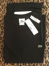 Lacoste Black Tee Shirt 7 New With Tags