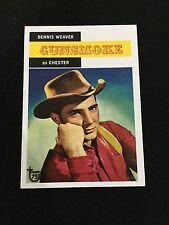 "GUNSMOKE ""CHESTER"" TV SHOW RETRO TOPPS 75TH TRADING CARD"