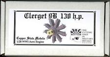 Copper State Models 1/28 CLERGET 9B 130 h.p.ENGINE Resin & Photo Etch Kit