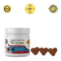 Omega 3 Chews for Dogs Skin Coat Heart Supplements Dog Fatty Acid EPA DHA Treats