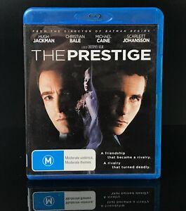 THE PRESTIGE  Blu-ray Region B MOVIE Very Good Condition FREE SHIPPING