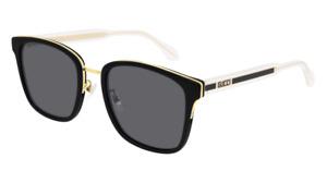 Gucci Sunglasses GG0563SK  001 Black grey Original Man