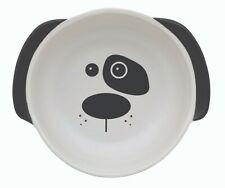 Scruffy The Dog Bowl White