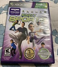Xbox 360 Kinect Sports Platinum Hits Game In Case In Excellent Condition