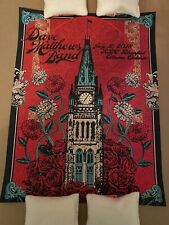 2018 Ottawa Canada Dave Matthews Band Poster Dmb Helton Signed And #'d! Sold Out