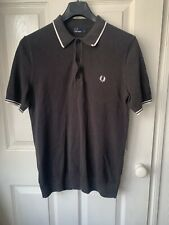 Fred Perry Mens Small Brown Polo