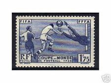 "FRANCE STAMP TIMBRE 1938 YVERT ET TELLIER 396 "" COUPE DE FOOTBALL "" NEUF xx LUXE"