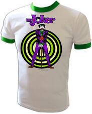 VTG 70s JOKER Batman & Robin Mego movie DC COMICS Marvel iron-on UNUSED T-Shirt