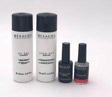 MESAUDA KIT SOAK OFF REMOVER 125ml + UV GEL CLEANSER 125ml + BASE&TOP +ULTRABOND
