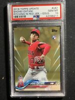 2018 Topps Update Us1 Gold Shohei Ohtani ROOKIE RC /2018 PSA 10 GEM MINT