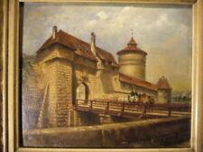 Nürnberg 1896 : Stadtmauer Neutor Neutorturm Albin Mattenheimer Bamberg Franken