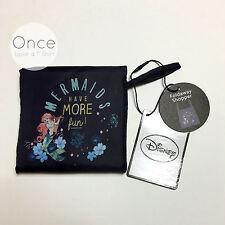 DISNEY ARIEL THE LITTLE MERMAID Fold Away Shopper Shopping Tote Bag from Primark