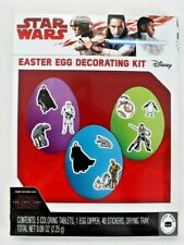 Disney Star Wars Easter Egg Coloring Decorating Kit with Stickers Brand New