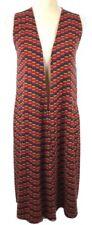 NEW LuLaRoe Joy Womens Knit Sleeveless Open Front Vest Cardigan Size XS