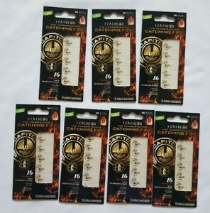 CoverGirl 16 Nail Stickers Flamed Out (SET OF 7) The Hunger Games  Catching Fire