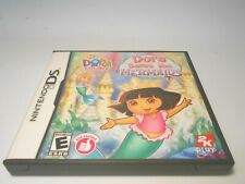 Dora the Explorer Dora Saves the Mermaids (Nintendo DS) game lite dsi xl 3ds 2ds