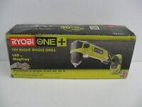 RYOBI 18V ONE+ Cordless Right Angle Drill Tool Only P241 NEW