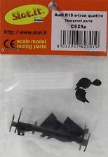 SLOT IT SICS29P AUDI R18 E-TRON QUATTRO TEARPROOF PARTS NEW 1/32 SLOT CAR