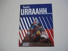 advertising Pubblicità 1981 FANTIC CABALLERO 75 RC