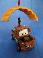 Tow Mater Parachute Christmas Ornament Pixar Cars 2 Disney Store 2011 Tow Truck