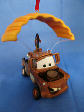 Tow Mater Parachute Christmas Ornament Pixar Cars 2 Disney Store 2011 Tow Truck