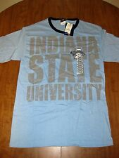 INDIANA STATE UNIVERSITY Sycamores small T shirt NWT tee ISU Terre Haute arctic