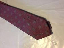 Mens Red Black Gray Tie Necktie OSCAR DE LA RENTA~ FREE US SHIP (10526)