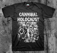 CANNIBAL HOLOCAUST - Movie T Shirt (Cult Horror Gore Classic Splatter)